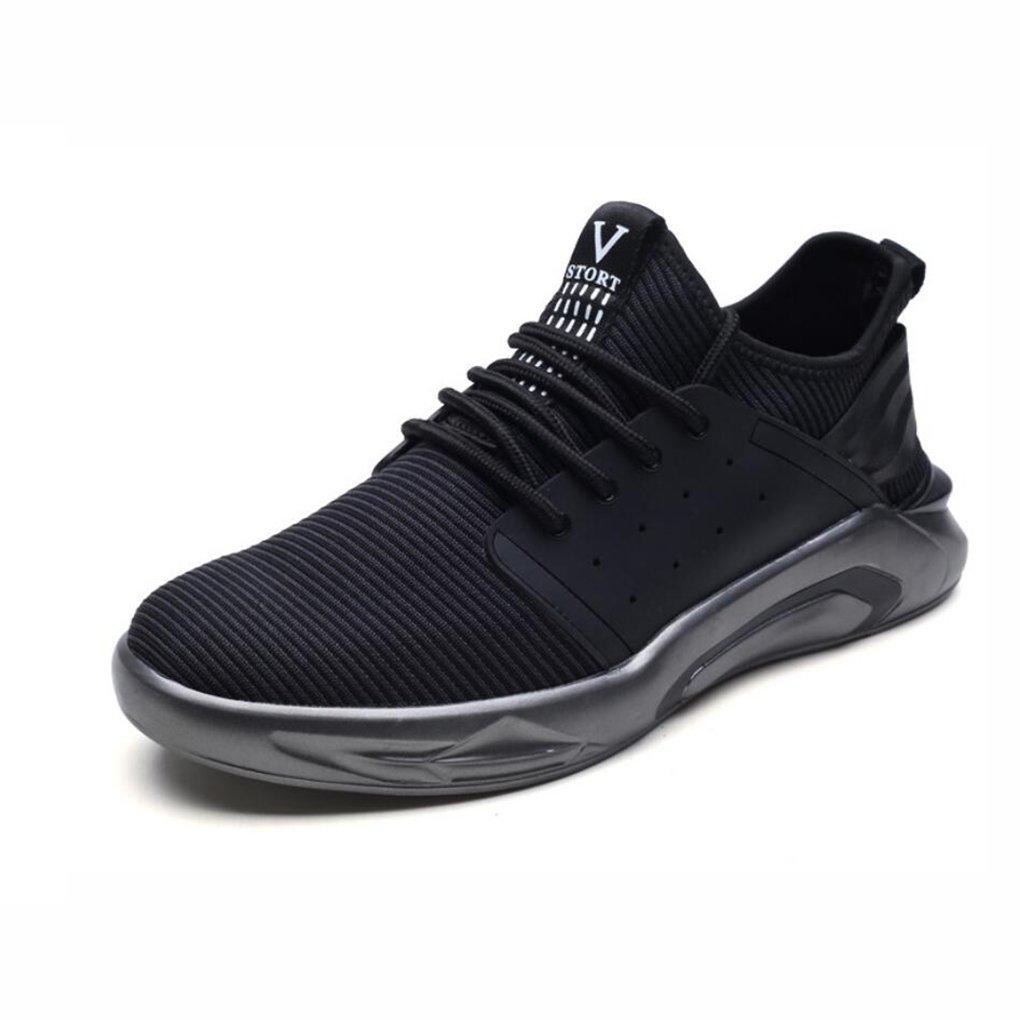 Turnschuhe, Casual Wanderschuhe, Atmungsaktive Single Schuhe, Casual Sport Student Laufschuhe, Tide Schuhe, Herren-Trainer Road Running Schuhe (Farbe : Ein, Größe : 42)
