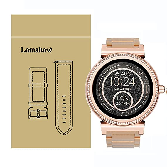 Amazon Com Lamshaw Quick Release Smartwatch Band For Michael Kors