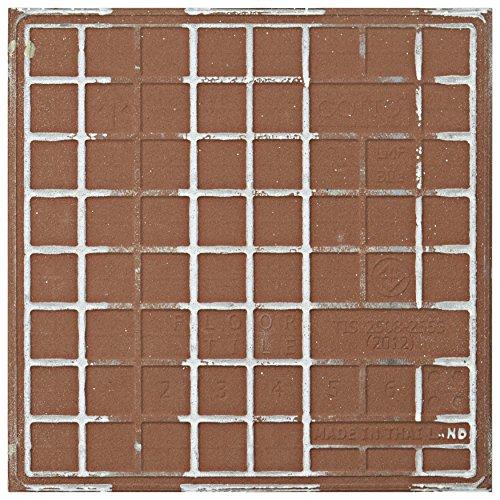 SomerTile FTC8BRBK Bracara Ceramic Floor and Wall...