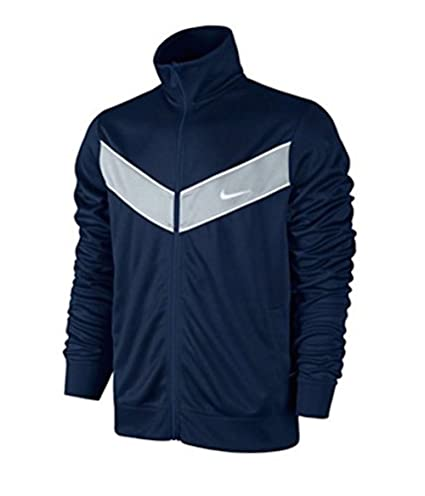 a79b518d07 Image Unavailable. Image not available for. Color  NIKE STRIKER TRACK  JACKET NAVY WHITE GRAY 637743-475 SIZE L