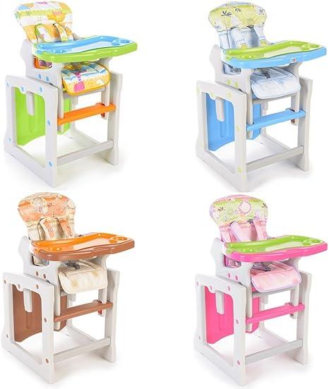 Trona para bebé convertible en mesa y silla - Trona o silla para ...