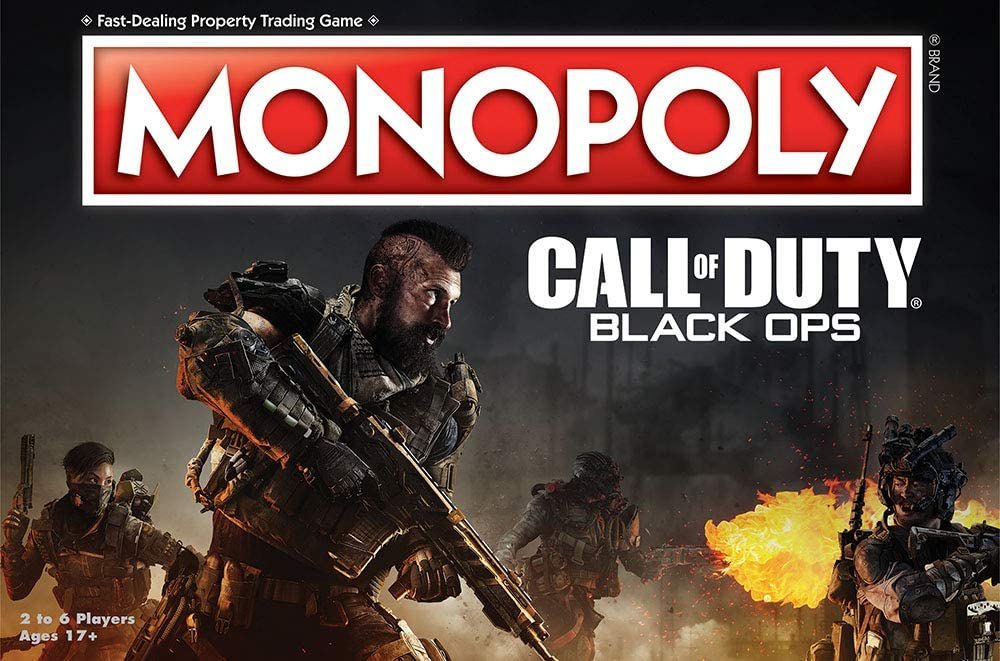 Call of Duty Black Ops Monopoly® AGE 17 New 2018