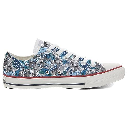 Converse All Star Zapatos Personalizadas (Producto Artesano) Horse Feathers: Amazon.es: Zapatos y complementos