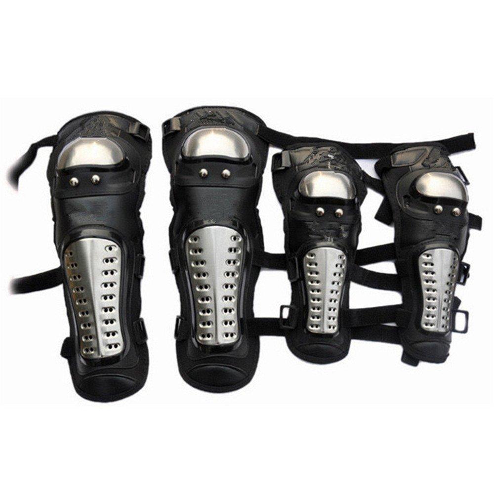 LCPG Motorrad Ellenbogen und Knieschützer Motocross Radfahren Protector Guard Rüstungen Set für Reiten Radfahren Skating-4pcs