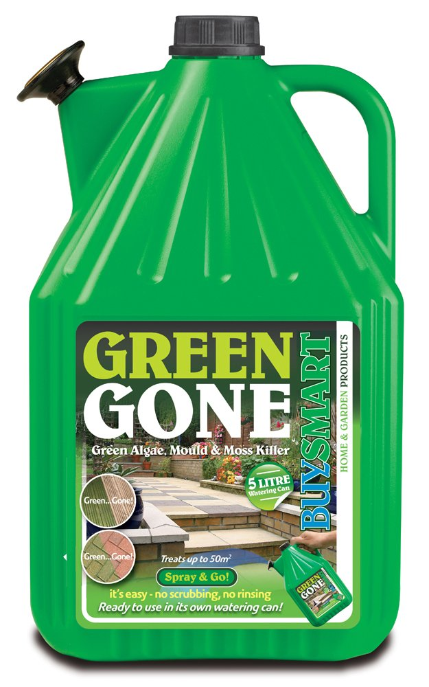 Buysmart Products 5L Green Gone Ready to Use Algae Mould/Moss Killer Buysmart Products Ltd