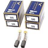 Escobilla de carbono para taladro eléctrico sourcingmap®, 10 mm x 5 mm x 5