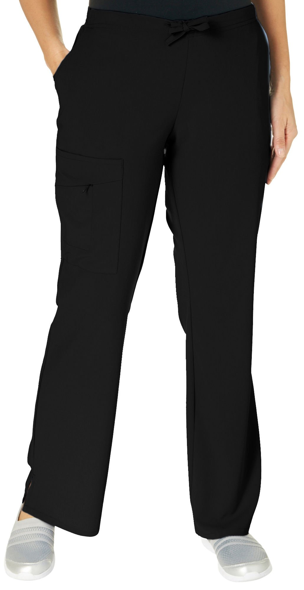 Jockey Women's Scrubs Scrub Pant, Black, XL