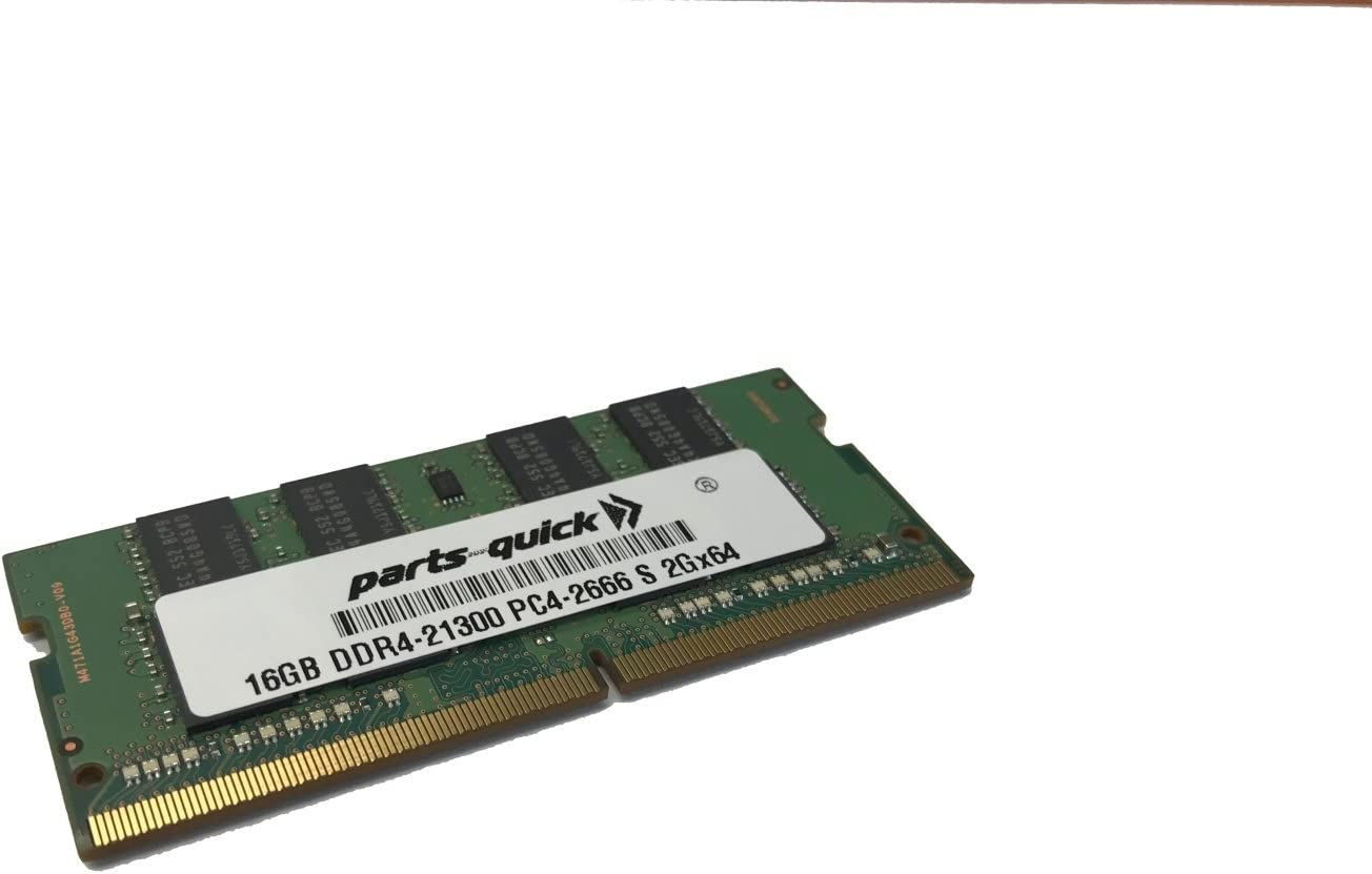 16GB Memory for Lenovo ThinkPad X1 Extreme Laptop Compatible RAM Upgrade DDR4 2666MHz SoDIMM (PARTS-QUICK Brand)