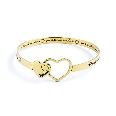 rivenditore all'ingrosso ebfa1 bc84d Bracciale donna gioielli Marlù Time To- Nel mio cuore cod.15BR026G