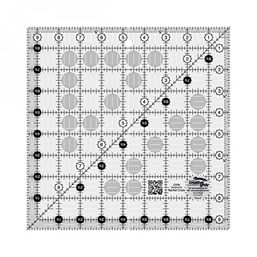 Creative Grids 9.5 Square Quilting Ruler Template [CGR9] Custom Quilts Inc 4336996774
