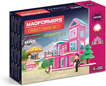 Magformers 64Pc. Sweet House Set