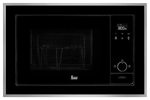 Teka ML 820 bis Microondas con grill, 1100 W, 20 litros, Otro, Negro