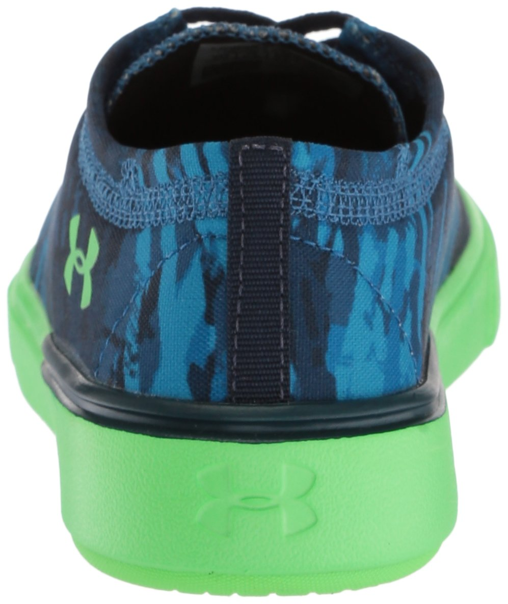 Under Armour Pre School KickIt2 VG Sneaker B0716L4VWG 1 M US|Moroccan Blue (401)/Arena Green