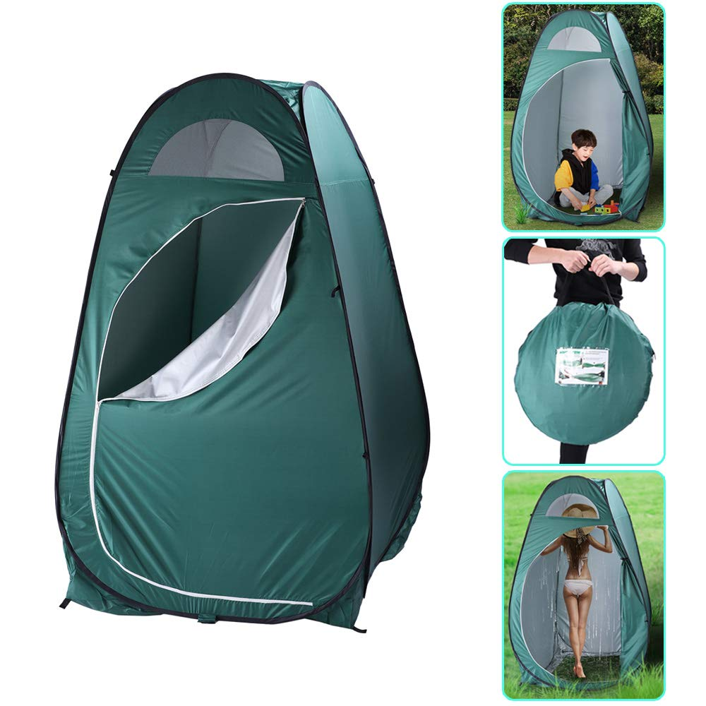 SSLine Portable EZ Pop UP Changing Room Tent Outdoor Camping Traveling Shower Tent Privacy Shelter Instant Camp Beach Toilet Dressing Tent Kids Sun Shelter Foldable with Carry Bag by SSLine