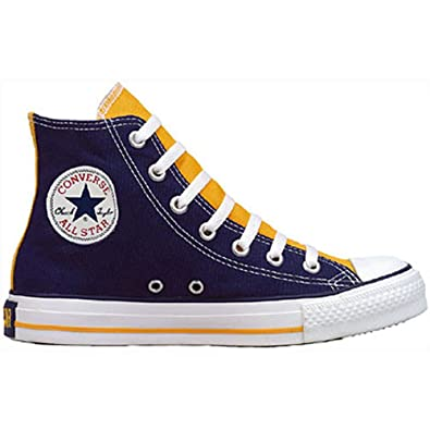 72004ead1a5 Converse Mens 1J729 Chuck Taylor All Star 2 Tone Hi Purple Size  6.5 ...