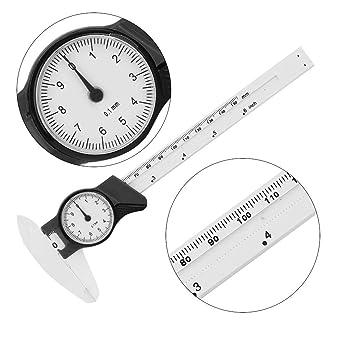 Yellow 0-150mm Professional Vernier Caliper,Plastic Dial Caliper Ruler Gauge Measure Tool for Measuring