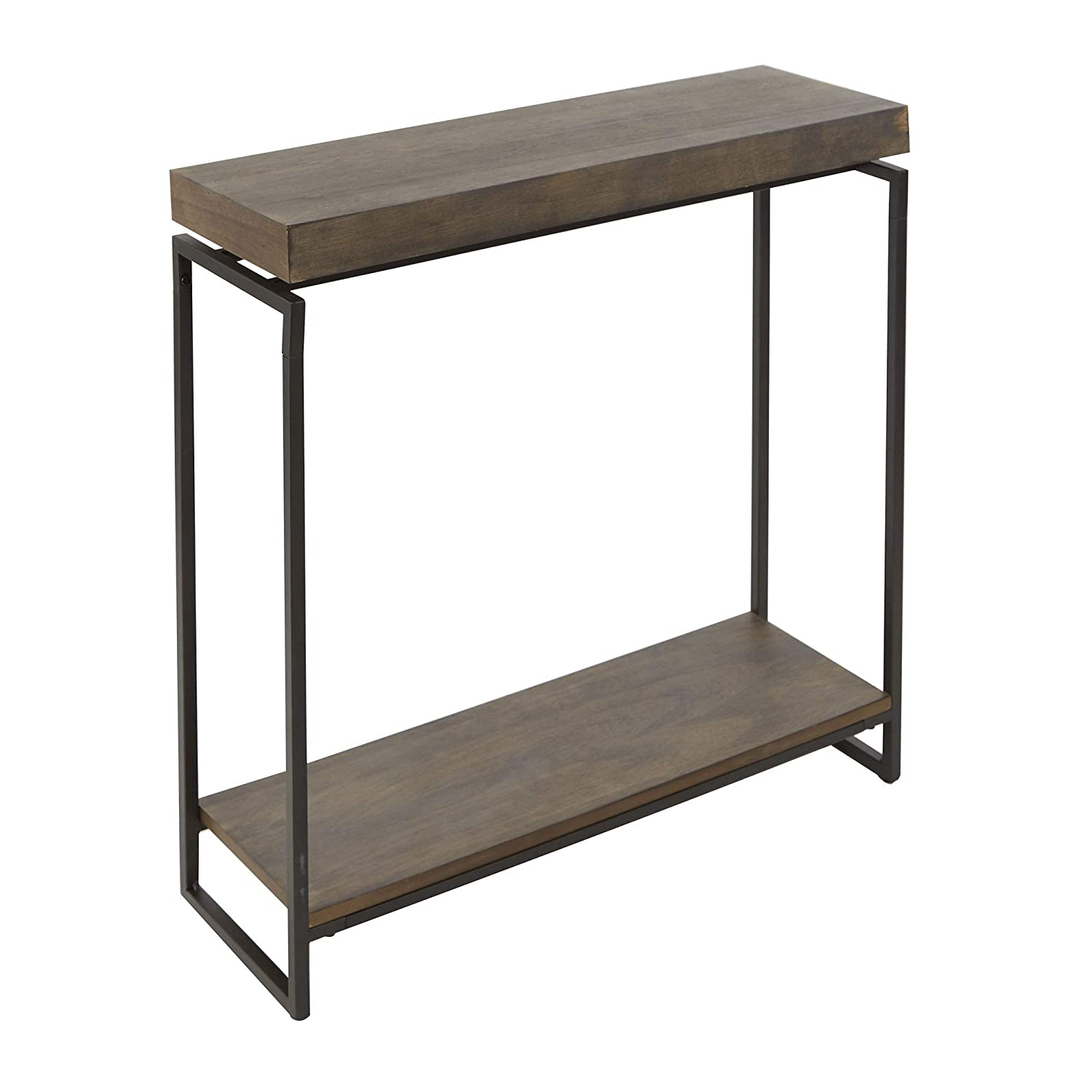 Amazon.com: Silverwood CPFT1449E Console Table Gunmetal Gray ...