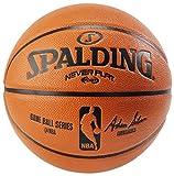 Spalding NBA Never Flat Game Replica Ball, 28.5-Inch/Size 6
