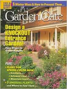 Garden Gate Magazine October 2002 Design a Knockout