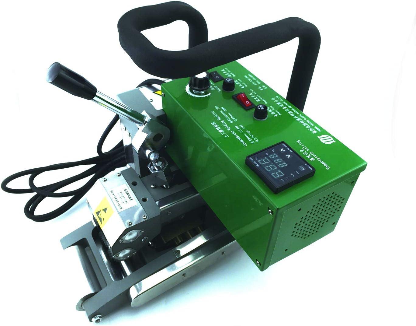 Máquina soldadora de cuña superpuesta de geo-membrana Máquina de soldadura de geomembrana 1800W 220V con 1 año de garantía (220V)