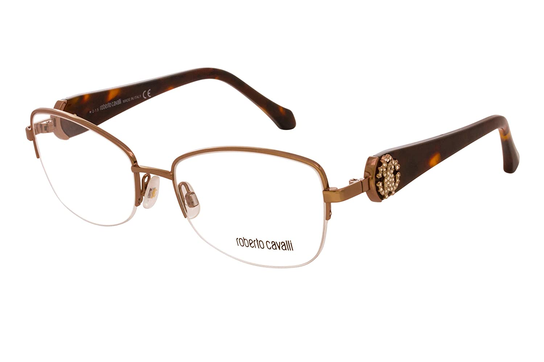 ROBERTO CAVALLI Eyeglasses RC0932 034 Shiny Light Bronze 54MM