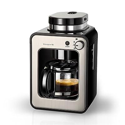 American Style Dripping Machine à café Ménage Entièrement Automatique Grinder Coffee Pot Farine de soja À double usage