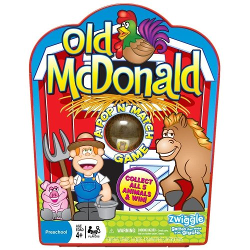 Rhymes Game Match - Old McDonald - A Pop n' Match Game
