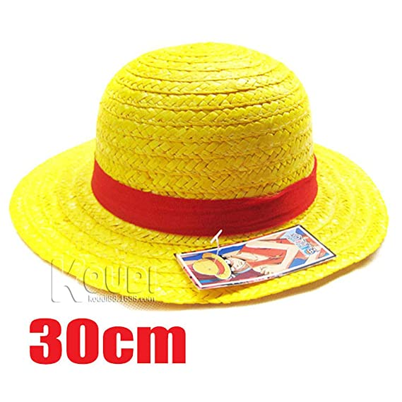 Chapeau De Paille Luffy One Piece Anime Personnage Cosplay
