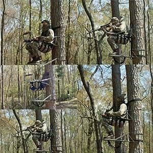 Amazon Com Bigfoot Camo Climbing Hunting Tree Stand Tsc
