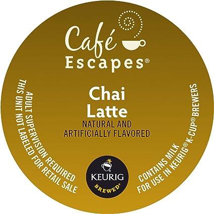 Cafe Escapes, Keurig K-Cups, 72 unidades: Amazon.com ...