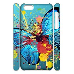 HXYHTY Customized 3D case Butterfly for iPhone 5C