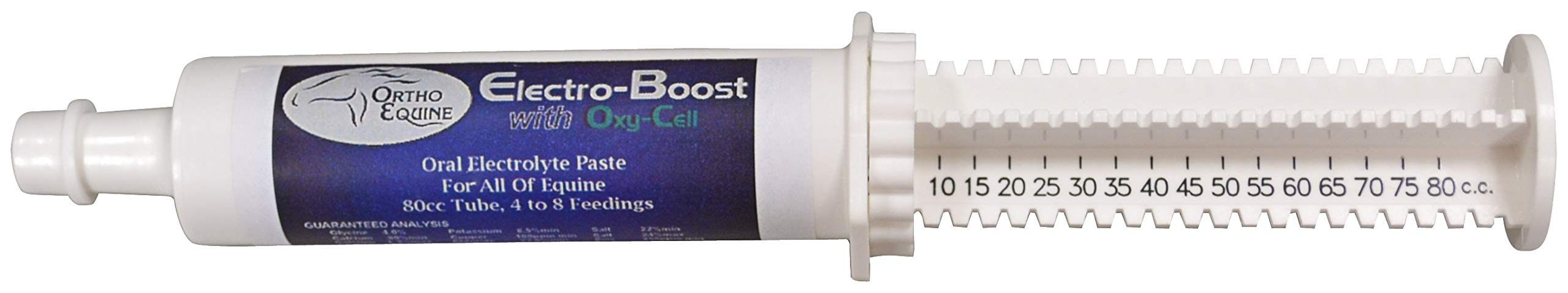 Durvet Electro-Boost Horse Paste, 80 CC Syringe by Durvet