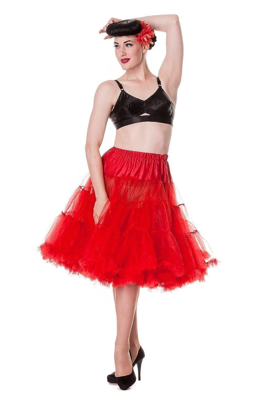 Hell Bunny Long Petticoat (Red)