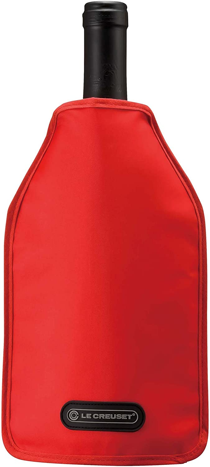 Le Creuset Wine Cooler Sleeve, Cerise (Cherry Red) Le Creuset of America WA126L-67