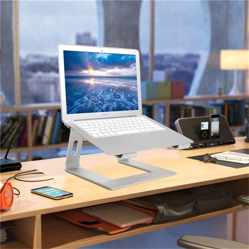Support amovible for ordinateur portable for ordinateur portable de refroidissement en alliage daluminium Support Macbook de bureau Pad haut de base entre dans Office for 10 et 14 pouces for ordinate