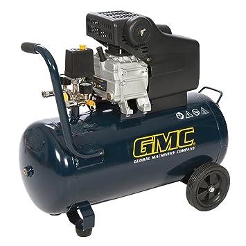 Compresor de aire de 50 litros, 2 CV, marca GMC: Amazon.es: Bricolaje y herramientas
