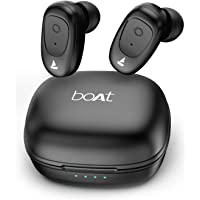 boAt Airdopes 201 True Wireless Earbuds with BT v5.0, IPX 4 Sweat and Water Resistance, in-Built Mic with Voice Assistant (Active Black)
