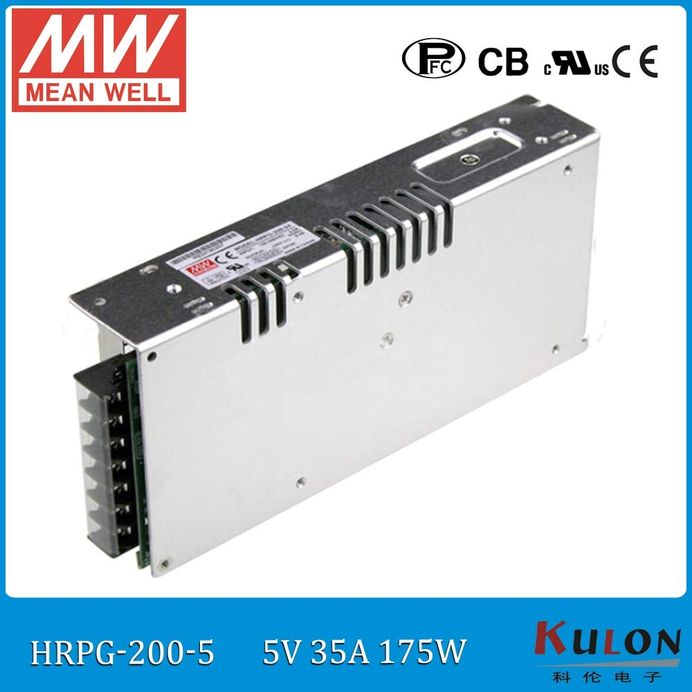 Utini Original HRPG-200-5 175W 35A 5V Power Supply ac dc 5v Low Power Consumption Power Supply with PFC Function