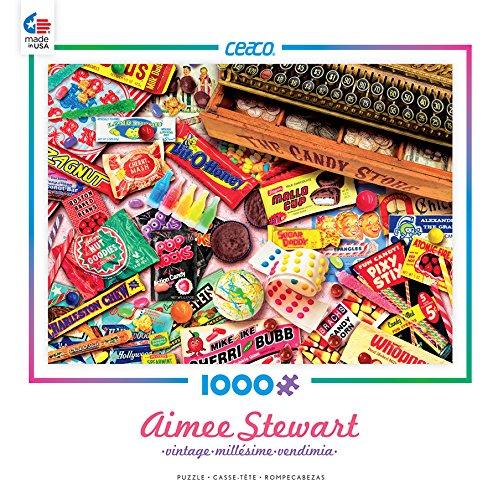 Vintage Candy Shop Puzzle 1000 Piece Ceaco Aimee Stewart 3383-1