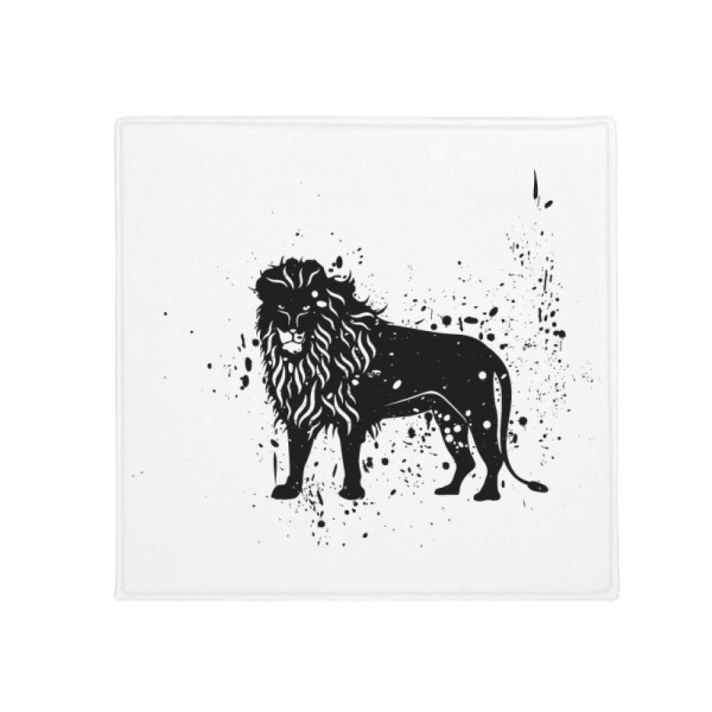 DIYthinker Mexican Lion Simple Black and White Anti-Slip Floor Pet Mat Square Home Kitchen Door 80Cm Gift