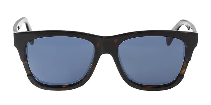 Amazon.com: Just Cavalli jc733s 5453 W Cuadrado Negro ...