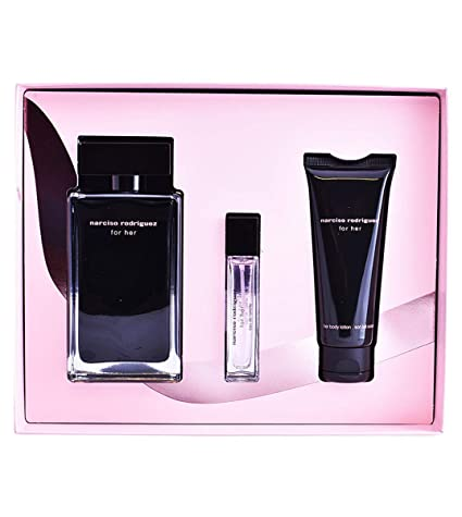 Estuche Narciso Rodriguez For Her Perfume EDT 100 ml + 10 ml ...