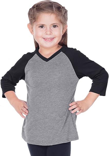 Women Sheer Jersey Contrast V Neck Raglan Short Sleeve Kavio