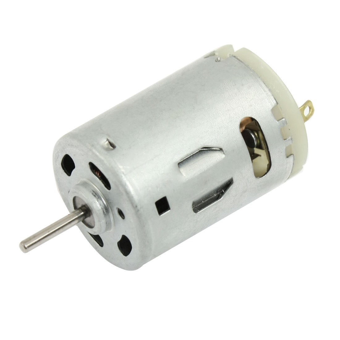 12V DC 6000RPM Torque Magnetic Mini Electric Motor for DIY Toys Cars LW