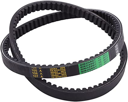 Go Kart Drive Belt 2 pcs Clutch Belt Replacement for 30 Series Torque Converter Belts Hammerhead 80T and TrailMaster Mid XRX Go-Karts 9.100.018-725 Go Kart Drive Belt