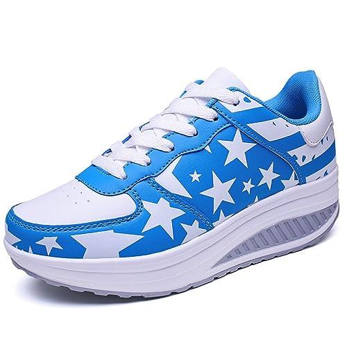 Piel Otra Amazon Zapatillas De Jrenok Zapatos Mujer es Deporte qtnzfxwI