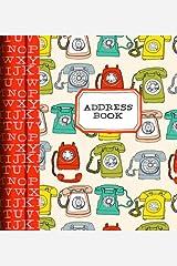 Analog Address Book Hardcover