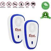 BeauFlw Repelente Ultrasonico, Electrónico Repelente Mosquitos Insectos