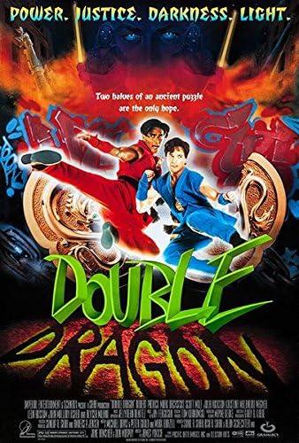 Amazon Com Double Dragon 1994 Movie Poster Posters Prints
