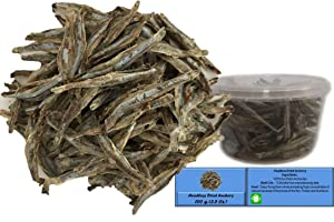 Dried Anchovy Headless Deep-frying as Snack or add flavor to soups, side dish Product of Thailand (100)